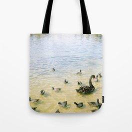 family of quacks Tote Bag