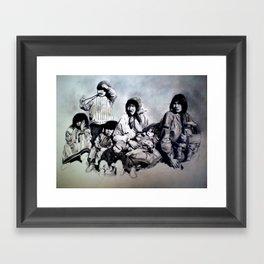 Spirit of the Family Framed Art Print