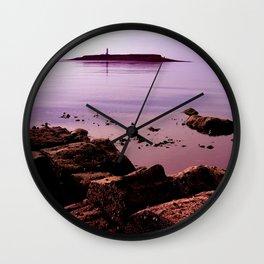 Pladda Sunset Wall Clock