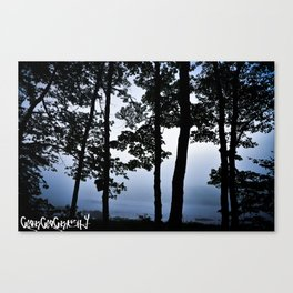 Lets Stay Up All Night And Watch The Sun Rise, Then Forget It Ever Existed Canvas Print