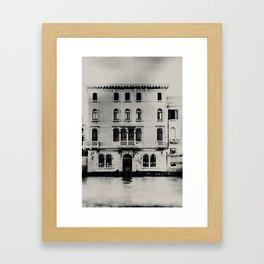 Venice - Study 330 Framed Art Print