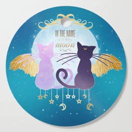 In the name of the moon Cutting Board