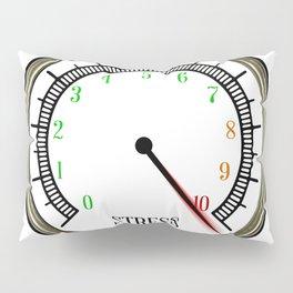 Stress Meter Pillow Sham