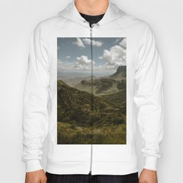 Cloudy Vibrant Mountaintop View in Big Bend - Lost Mine Trail Hoody
