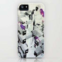 Purple Monkeys iPhone Case