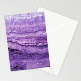 Mystic Stone Wild Violet Stationery Cards