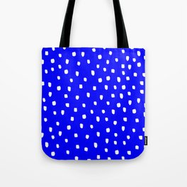 Snow Blue Sky - Bright Blue Furniture Tote Bag