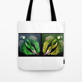 Angels Green & Gold Tote Bag