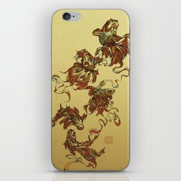 Tangled Veiltail iPhone Skin