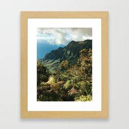 Puu O Kila Framed Art Print