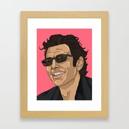Jeff in Pink Framed Art Print