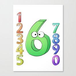 Six! Canvas Print