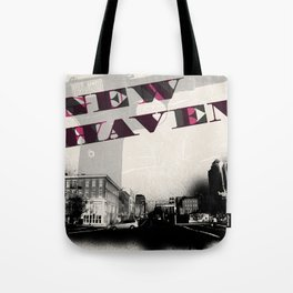 Gun Wavin, New Haven Tote Bag