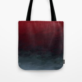 Inverted Fade Crimson Tote Bag