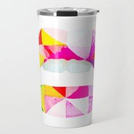 Labios geometricos Travel Mug