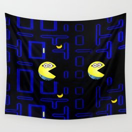 Pac-Minion Wall Tapestry