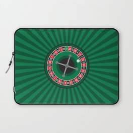 Roulette Wheel Laptop Sleeve