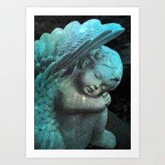 Sleep Baby Art Print