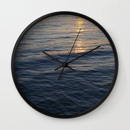 Sunset Waves, Take Two Wall Clock