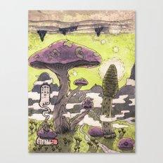 無口森 Canvas Print