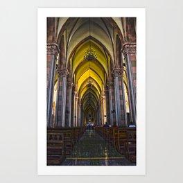 Where Memories Go Art Print