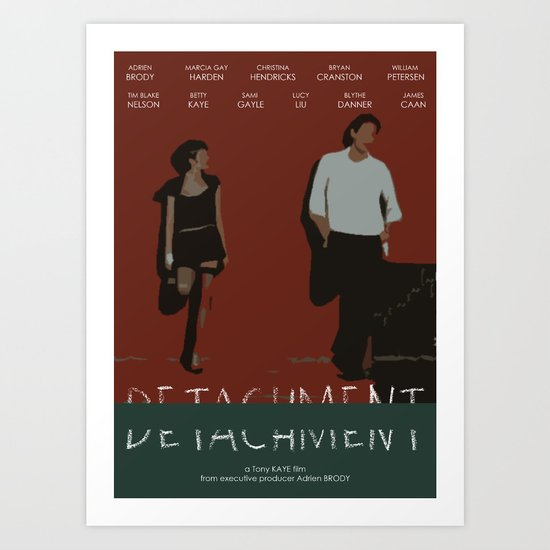 Detachment Art Print