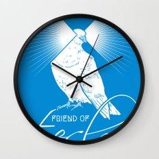 Friend of Tesla Wall Clock