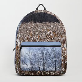 Field of Corn left Behind Backpack