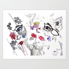All there 2 Art Print