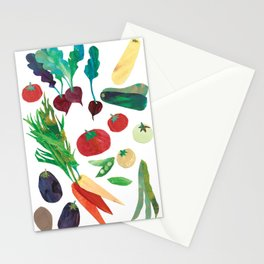 Love Your Veg Stationery Cards