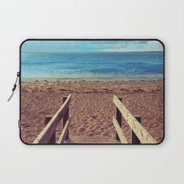 Boardwalk to the Beach Laptop Sleeve