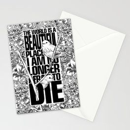 Breathe In Deep Stationery Cards