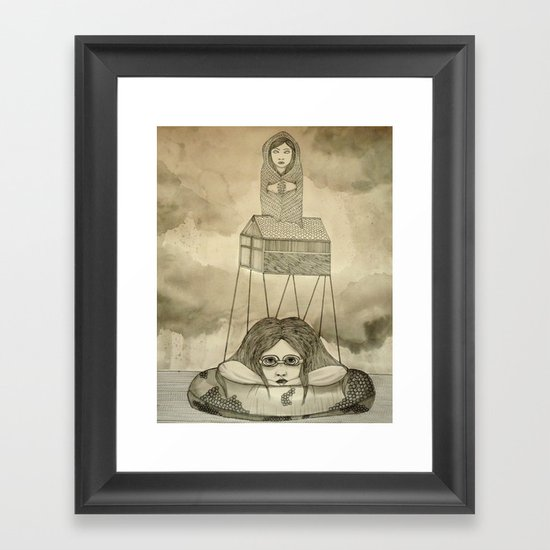 Ladies of the Lake Framed Art Print