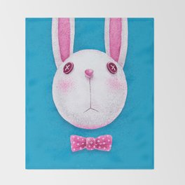 Rabbit Throw Blanket
