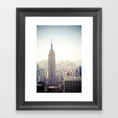 New York City | Empire State Building Framed Art Print
