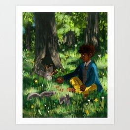 Friend of the Forest Art Print