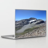 archan nair Laptop & iPad Skins featuring Piz Nair View by Helle Gade