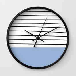 MARINERAS BLUE Wall Clock