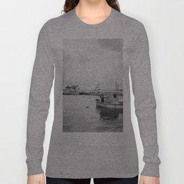 Black & white seascape Long Sleeve T-shirt