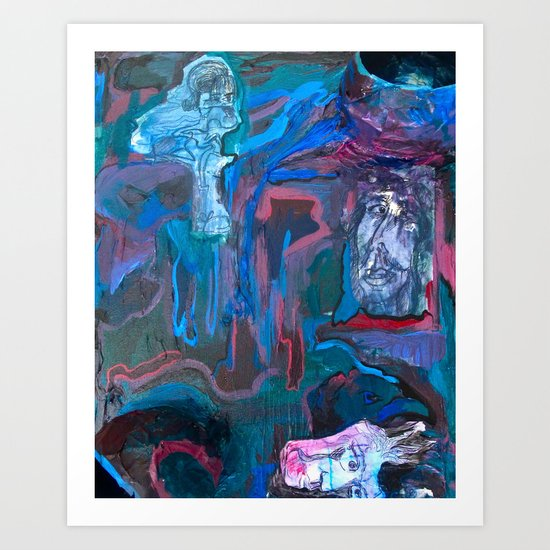 The Communal Concentration Art Print
