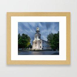Old First Church of Bennington Framed Art Print