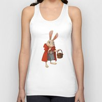 red riding hood Tank Tops featuring Little Red Riding Hood by Alyssa Tallent