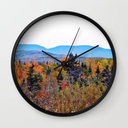 Mont Albert and the Painted Forest Wall Clock