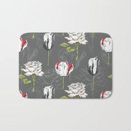 Modern Botanical Bath Mat