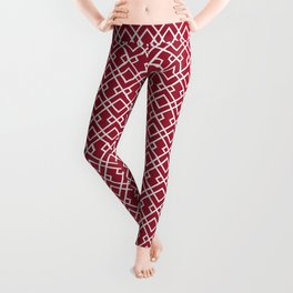 University of Alabama colors trendy patterns minimal pattern college football sports Leggings