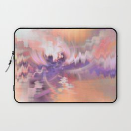 Cherry Blossoms Abstract Laptop Sleeve