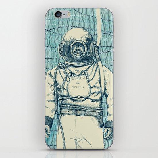 Diver iPhone & iPod Skin