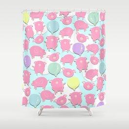 Little Piglets Shower Curtain