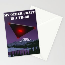 My Other Craft Is A TR-3B Stationery Cards