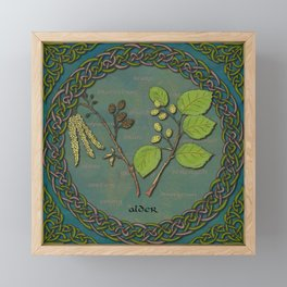 Celtic Alder Framed Mini Art Print